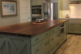 kitchen cabinet colors with butcher block countertops 5 misconceptions about butcher block countertops mcclure