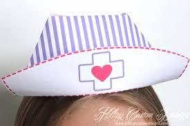 diy designs interesting printable nurses hat diy nurse tutorial hilltop custom