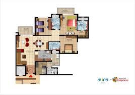 layout floor plan mahindra aura sector 110 a gurgaon overview floor plan