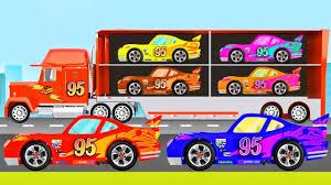 disney pixar cars mack truck hauler disney cars lightning mcqueen