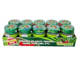 pickle candy twangerz hot pickle salt shakers general goods wholesale