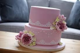 80th birthday cake pink rose cake 3 bakealous