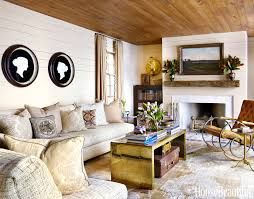 off white paint color for living room in country style with beige