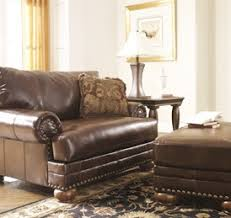 Brown Leather Chair And A Half Design Ideas Best Furniture Mentor Oh Furniture Store Ashley Furniture