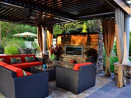 outdoor fireplace ideas home interior makeovers and decoration ideas pictures outdoor