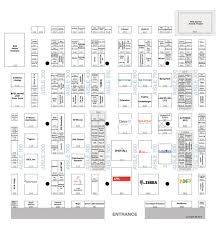 Exhibit Floor Plan Exhibit Hall Map Rfid Journal Live 2017 Rfid Journal Events