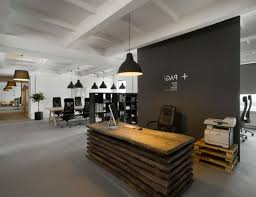 Simple Office Table Office Simple Office Cubicle Decorating Ideas With Mural