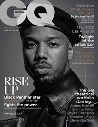 Black Panther Michael B Honors Black Panther On Gq Cover Huffpost