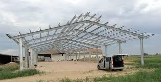 fienili prefabbricati struttura metallica azienda agricola pegognaga mn fantoni