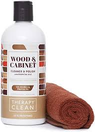 what is the best furniture restorer therapy wood cleaner and kit with large microfiber cloth 16 fl oz best used as furniture wood table cleaner cabinet restorer
