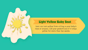 light yellow baby baby congestion decoding baby s snot