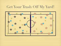 p e games get your trash off my yard youtube