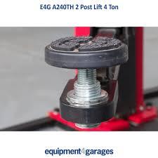 e4g a240th 2 post lift garage lifts u0026 equipment garage equipment
