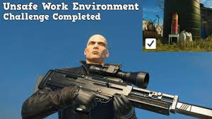 Challenge Unsafe Hitman New Mission Patient Zero Unsafe Work Environment Silent
