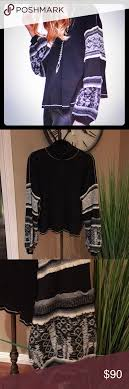 Free Northern Lights Sweater In Free Northern Lights Sweater Top Grey Pattern Waffle