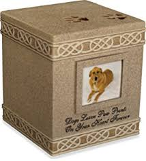 pet urns for dogs angelstar 5 inch pet urn for dog home kitchen