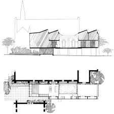 brookes street house james russell architect arch drawing