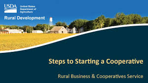 Rural Development Usda Steps To Starting A Cooperative Youtube