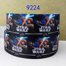 printed ribbon wholesale wholesale ribbon 50 yard per size wars printed ribbon 9224 in