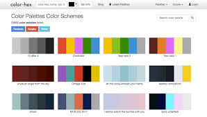 color schemes 2017 50 sites to get your daily dose of color inspiration creative