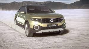 volkswagen t cross breeze concept 95 octane