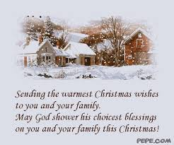 sending the warmest wishes to you and your family