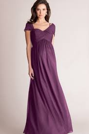 maternity bridesmaid dresses discount a line cap sleeve chiffon ruched sweetheart floor length