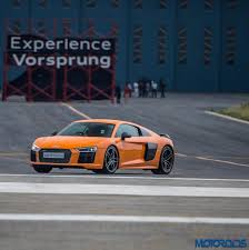 first audi r8 audi r8 v10 plus first drive experience flying low motoroids