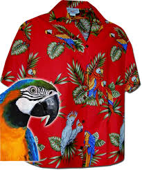 parrot s hawaiian shirts