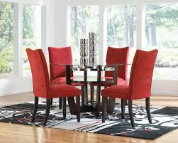 long red curtain red dining room with wainscoting white ceramic