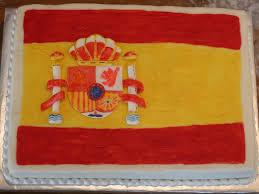 Spainish Flag Spanish Flag Cake Cakecentral Com