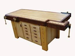 Woodworking Bench Top Thickness by 351 Best Workbench Ideas Images On Pinterest Work Benches