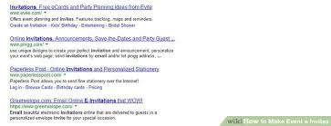 e invitations how to make event e invites 5 steps with pictures wikihow