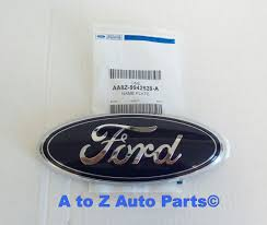 nissan frontier emblem new u0026 improved 2005 2014 ford f 150 front grille ford blue oval 3d