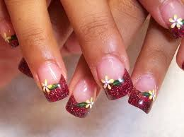 picture 1 of 5 cute nails designs to do at home photo gallery