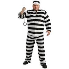Convict Halloween Costumes Rubie U0027s Costume Convict Man Size Men Black U0026 White