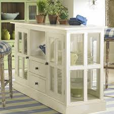 Kitchen Display Cabinet Make A Vintage Distressed Display Cabinet With Glass Panel Doors