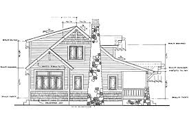 craftsman house plans absecon 41 011 associated designs