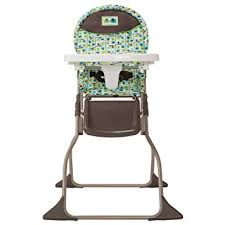 Simple Chair Amazon Com Cosco Simple Fold High Chair Elephant Squares Baby