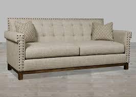 modern traditional furniture traditional linen fabric sofa with huston u0027s arroyo finish