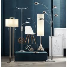 Led Torchiere Floor Lamp Possini Euro Design Vicina Chrome Led Torchiere Floor Lamp By