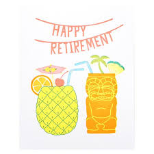 retirement card happy retirement card by lucky press otsu
