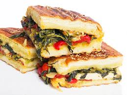 vegan cuisine broccoli rabe and antipasti panini with olive salad recipe serious
