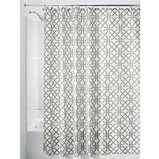54 Shower Curtain Interdesign Trellis Fabric Shower Curtain Stall 54