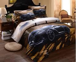 Mens Bed Set S Boys Cool Black Car Prints 3d Bedding Sets Duvet Cover