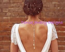 back jewelry necklace images Back necklace etsy jpg