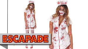 zombie nurse costume halloween fancy dress ideas youtube