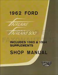 1962 ford car fordomatic transmission service training manual original