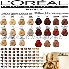 loreal professional hair color shades om hair