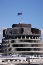 Flying The Flag At Half Staff File Flag Half Mast Nz Parliament Buildings Pike River Mining